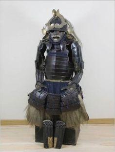Japanese-japan-SAMURAI-Warrior-old-YOROI-Armor-KABUTO-GUSOKU