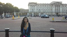 Me in front of #buckinghampalace