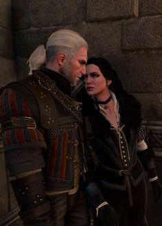 Yen and Geralt