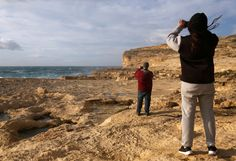 People take pictures of the site where the natural structure known as the Azure Window collapsed, after the Maltese islands were hit by rough seas and stormy weather, at Dwejra on the island of Gozo, Malta, March 8, 2017.   REUTERS/Darrin Zammit Lupi      TPX IMAGES OF THE DAY via @AOL_Lifestyle Read more: https://www.aol.com/article/news/2017/03/08/maltas-famous-azure-window-just-collapsed-into-the-sea/21876570/?a_dgi=aolshare_pinterest#fullscreen
