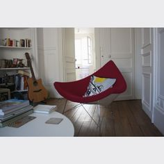 Deux fauteuils design coconut chair 50