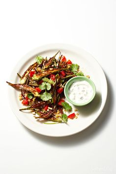 Iffy about okra? This spiced and charred okra recipe will make you a fan.