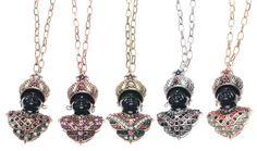 Collar largo con cabecita en cristales y perlas en colores varios en www.sonatachic.com #etnico #pulseras #cool #ethinc #sonata #chic #bisuteria #snt #moda #fashion #tendencia #collares #gargantillas #anillos #outfits #complementos #cubrebotas #joyas #broches #tobilleras  #bolsas #expositores #llaveros #accesorios #pelo #gemelos #metal #colgante #cristal #promociones #buscatuestrella #descuentos #online