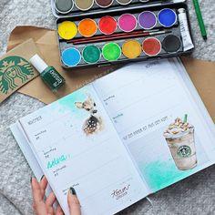 odernichtoderdoch |kalender |schreibwaren | planner |coffee | starbucks |lackschwarz