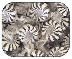 Licorice Starlight Mints - 5lb at ACandyStore.com