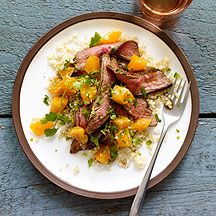 6 PPV - Flank Steak Citrus Salad.  Looks mouth watering amazing. #WW #WeightWatchers