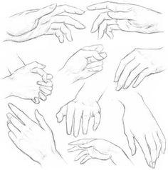 как правильно рисовать руки