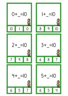 10-kamrater kort.pdf – OneDrive Place Value Worksheets, Math Worksheets, Year 1 Maths, Dyscalculia, Primary Maths, Math Numbers, Number Puzzles, Math Addition, Math Workshop