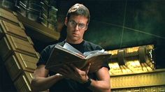 """Michael Shanks as Dr. Daniel Jackson. Brilliant archeologist. Speaks 23 languages just on Earth. Character dies constantly. - from the television show """"Stargate SG1"""" Most hardcore archeologist since Indiana Jones"""