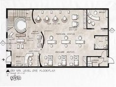 1000 images about spa layout on pinterest day spas for Design my own salon floor plan