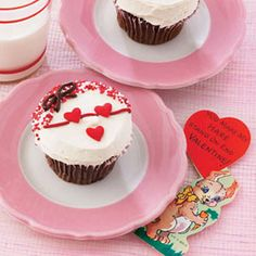 Valentines Day Cupcake for Kids - Woman's Day