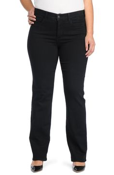 1a41a692a2fe2 Free shipping and returns on NYDJ Marilyn Stretch Straight Leg Jeans (Plus  Size) at
