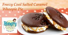Freezy-Cool Salted Caramel Whoopie Pie by Hungry Girl