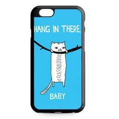 Hang In There Baby Cat iPhone 4/4S/5/5S/5C/6/6S/6+/6S+ Heavy Duty Case
