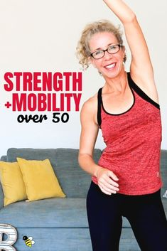Join me for a super FUNCTIONAL workout that will improve your STRENGTH and MOBILITY in just 25 minutes. This lower intensity barefoot routine is functional fitness for women over 50 at its finest…More Physical Fitness, Yoga Fitness, Fitness Diet, Health Fitness, Bodyweight Fitness, Fitness Style, Fitness Motivation, Fitness Humor, Fitness Plan
