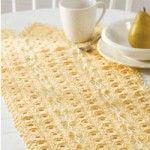 Sunshine Delight Table Runner « Free Crochet Patterns