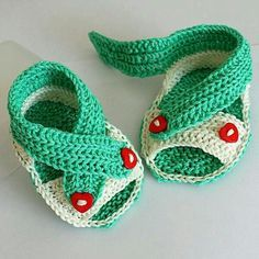Cheap crochet baby sandals, Buy Quality baby shoes directly from China handmade baby sandals Suppliers: Summer Crochet baby sandals Handmade Baby Cross Straps Sandals newborn shoes (sizes months) Crochet Baby Sandals, Booties Crochet, Crochet Baby Clothes, Crochet Shoes, Cute Crochet, Baby Booties, Baby Knitting Patterns, Baby Patterns, Crochet Patterns