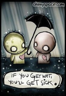 Pon and Zi ~ it all started with a guy, a girl, and an umbrella...