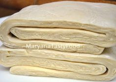 Quick puff pastry in 15 minutes. The secret of cooking! – A step by step recipe with a photo. Written by MaryanaTastyFood. Pastry Recipes, Cake Recipes, Cooking Recipes, Good Food, Yummy Food, Mac And Cheese Homemade, Russian Recipes, Bread Rolls, Dough Recipe