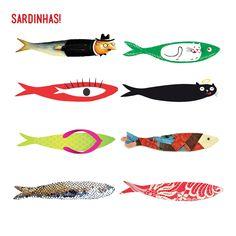 DIY-haz tu propia sardina http://idoproyect.com/blog/a-la-rica-sardina/
