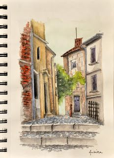 Become an Ambassador of #buildyful.com  to represent your #Architecture School in the world! See more details here: buff.ly/1xRomMd ~~Watercolor, Provence, France
