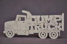 Camion à benne basculante camionnage Puzzle jouet en par Puzzimals