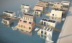 Living On Water on Pinterest | Houseboats, Floating Homes and Boats