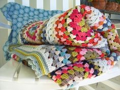 summer cottage blanket