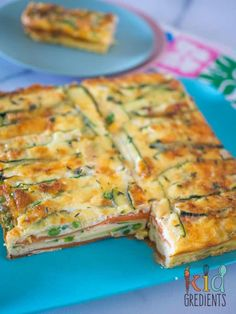 Gluten free - Meat free - Perfect for breakfast and great in the lunchbox, this sweet potato and zucchini healthy strata bake is jam packed full of veggies. Kid and freezer friendly. Great way to start the day with extra veggies! Vegetable Dishes, Vegetable Recipes, Vegetarian Recipes, Healthy Recipes, Vegetarian Dinners, Zucchini Zoodles, Baby Food Recipes, Cooking Recipes, Chicken Recipes