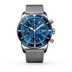 19 Extremely Stylish Men Pick Their Favorite Watch Breitling Superocean Heritage, Best Watches For Men, Cool Watches, Men's Watches, Instruments, Breitling Watches, Best Mens Fashion, Men's Fashion, Luxury Sunglasses