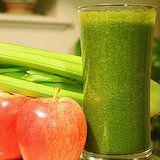 Glowing Green Smoothie for optimal weight loss... i might have to try this, but it will be tough to get past the color