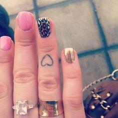 Cute Heart Tattoos | Cute Heart Tattoos for Girls, and more Sweet Cherries Tattoos Designs ...