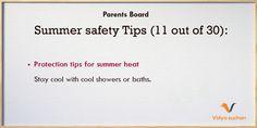 Summer safety tips (tip 11)