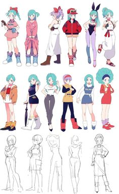 redviolett:  darkandcerulean:  Source: ガムさん @6um (twitter) Which is your favorite?   Can´t decide. everyone is my favorite *333* Every single ONE.
