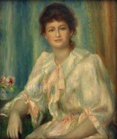Pierre-Auguste Renoir - A.Renoir, Porträt einer jungen Frau