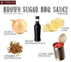 Another delicious recipe from Texas A&M's barbecue expert Jeff Savell for your next tailgate: a brown sugar BBQ sauce!