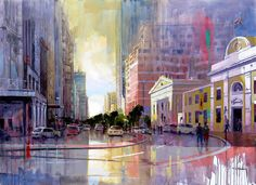 Artwork of Nasser Zadeh exhibited at Robertson Art Gallery. Original art of more than 60 top South African Artists - Since African Paintings, South African Artists, Cat Crafts, Artist Painting, Illustration Art, Illustrations, Online Art, Original Art, Art Gallery