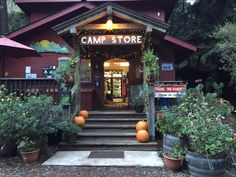 Budget Friendly (and dog friendly) Big Sur: Camp Store at Riverside Cabins & Campground