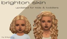 """linkysims: """" b r i g h t o n s k i n a combination of @inspiredmoodlet's someday skin (⭐️) and the now-deleted imtater's vicieux skin with swatches that include @tamo-sim's famous eye bags (⭐️). all..."""