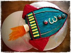 Perfect birthday cake for a boy
