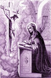 St. Bridget appreciated in an extraordinary way the grace of the Sacrament of Penance. Is confession a matter of much time or expense? asks Saint John Chrysostom. Is it a difficult and painful remedy? Without cost or hurt, this medicine is ever ready to restore you to perfect health.  #Catholic #Pray