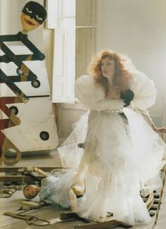 Karen Elson by Tim Walker for Vogue UK (April 2008).