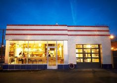 gas stations restaurants | Louis, MO Located in a renovated 1930's Standard Oil Filling Station ...