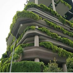 Building with a lot of green space Green Architecture, Sustainable Architecture, Architecture Design, Aesthetic Japan, Aesthetic Pictures, Beautiful Places, Backyard, Outdoor Structures, Exterior