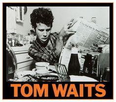 TOM WAITS VINTAGE MUSIC PHOTO POSTER 23x33 UK IMPORT LONDON 1751