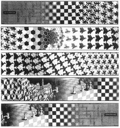 Jane's sketchbook: Escher and the Alhambra tessellations