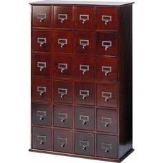 I pinned this Derrick Multimedia Cabinet in Cherry from the Elegant Organizing event at Joss and Main!