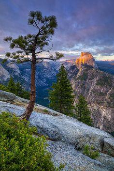 Half Dome, Yosemite Natl. Park, CA. by Oufti!, via Flickr