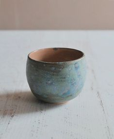 TFI Friyay  this cup might just be full of gin   Matcha tea bowl with my Frosty Blue Green Glaze I have two of these left in my shop!  Link in bio.  Wishing you all a fun filled Friday