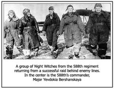 Night Witches of Russia WWII